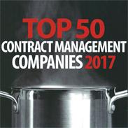 Top 50 Contract Management Companies 2017' Epicurean Group